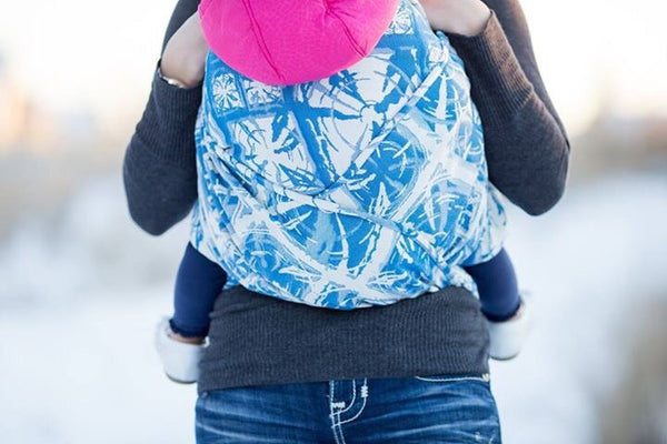 "Blast ""Royal"" - Bijou Wear Woven Wraps and Ring Slings baby carrier"