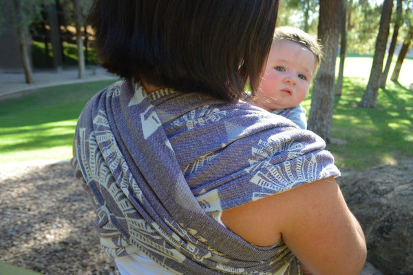 "Windmills ""Ad Astra"" - Bijou Wear Woven Wraps and Ring Slings baby carrier"