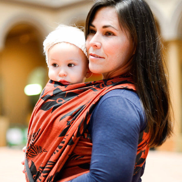 "Wildthing ""Crush"" - Bijou Wear Woven Wrap baby carrier"