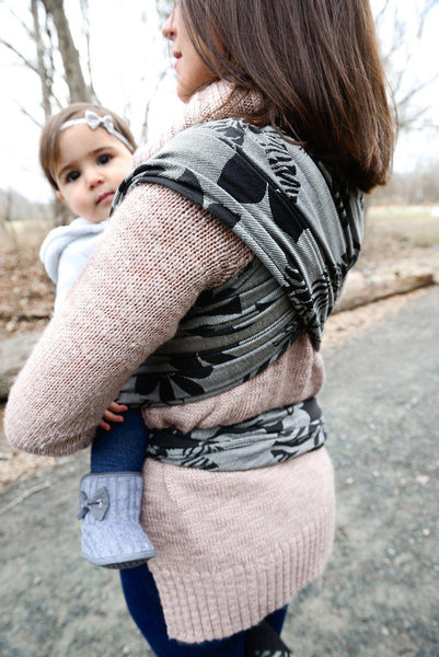"Wildthing ""Luxe"" - Bijou Wear Woven Wraps and Ring Slings baby carrier"