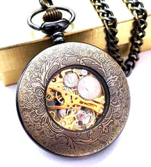 Celtic Knot Gold Pocket Watch