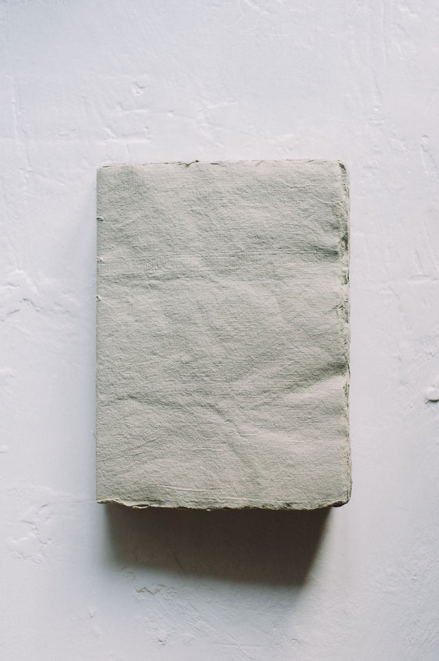 French Handmade Paper Argile Notebooks