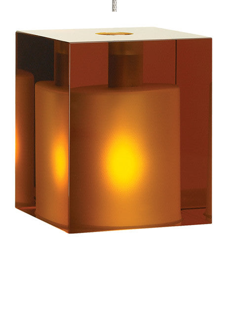 Cube Pendant by Tech Lighting