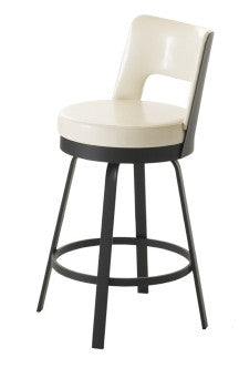 Brock Swivel Backed Barstool