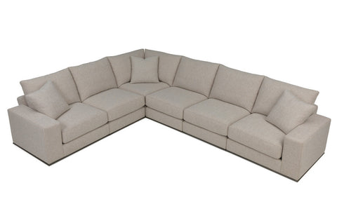 Archer (Wood Base) Modular Sectional