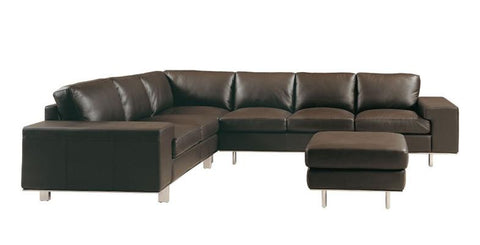 Barnet Leather Sectional