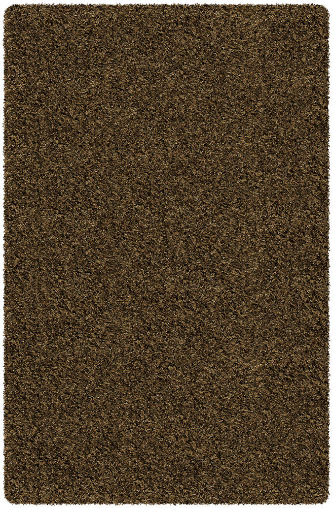 Core Shag Rug, Brown Black