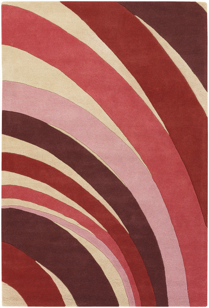 Counterfeit Area Rug, Red