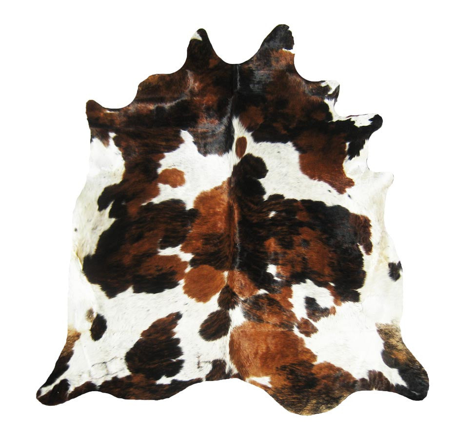 Exotic Tri Color Cowhide