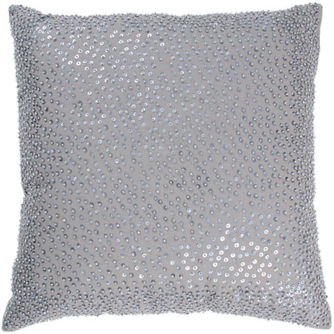Beaded Cotton Pillow