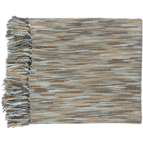 Teegan Blue/Beige Throw