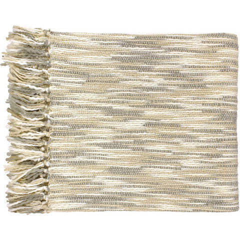 Teegan Gray/Cream Throw