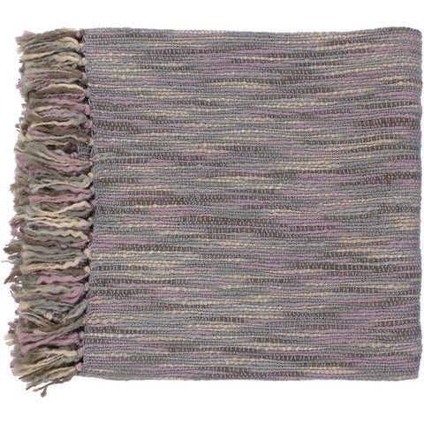 Teegan Gray/Mauve Throw