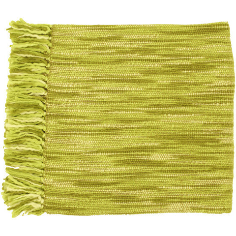 Teegan Lime Green Throw