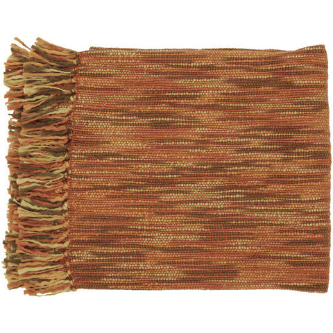 Teegan Brown/Rust Throw