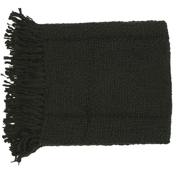 Tobias Black Throw