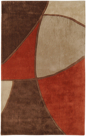Cosmopolitan Hand Tufted Rug, Red
