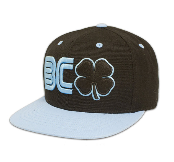 Black Clover Blue and Black Flat Brim Hat front view
