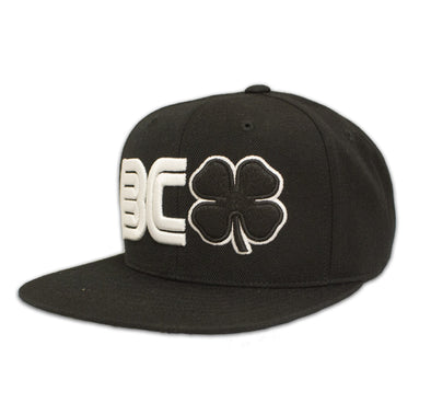 Black Clover black snapback front side view