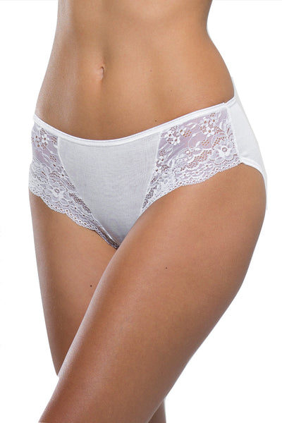 Ghiro - Medium Panties with lace - Filoscozia - SLIP MEDIO CON PIZZO