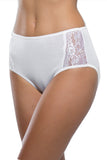 Ghiro - Wide Panties with lace - Filoscozia - SLIP ALTO CON PIZZO