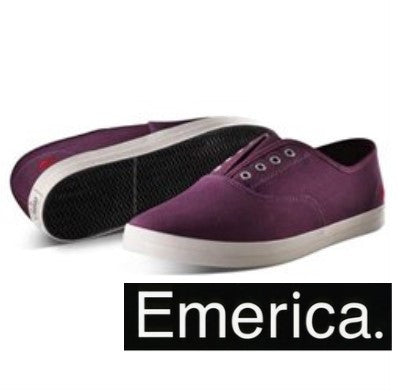 Emerica Mens Purple Skating Sneakers 8 Pc Prepack