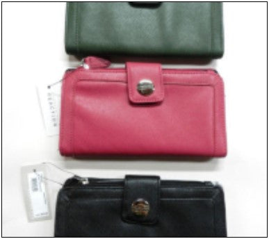 Kenneth Cole Reaction Womens Tab Clutch 48 Pc...