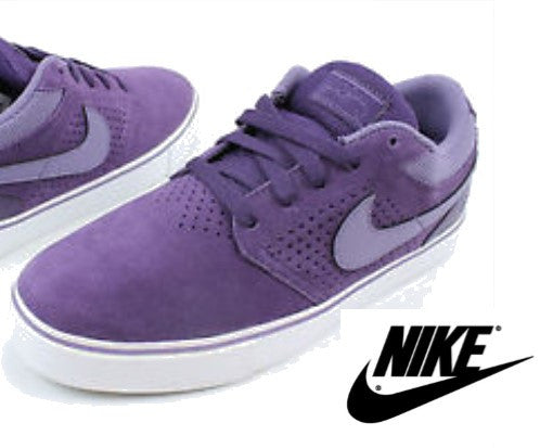 Nike Paul Rodriguez Mens Purple Skate Sneakers...