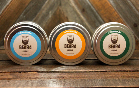 BEARd Candles 3-Pack