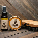 BEARd Oil and Balm Set w/ Brush