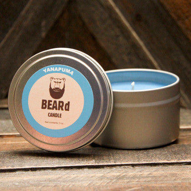 BEARd Candle Yanapuma