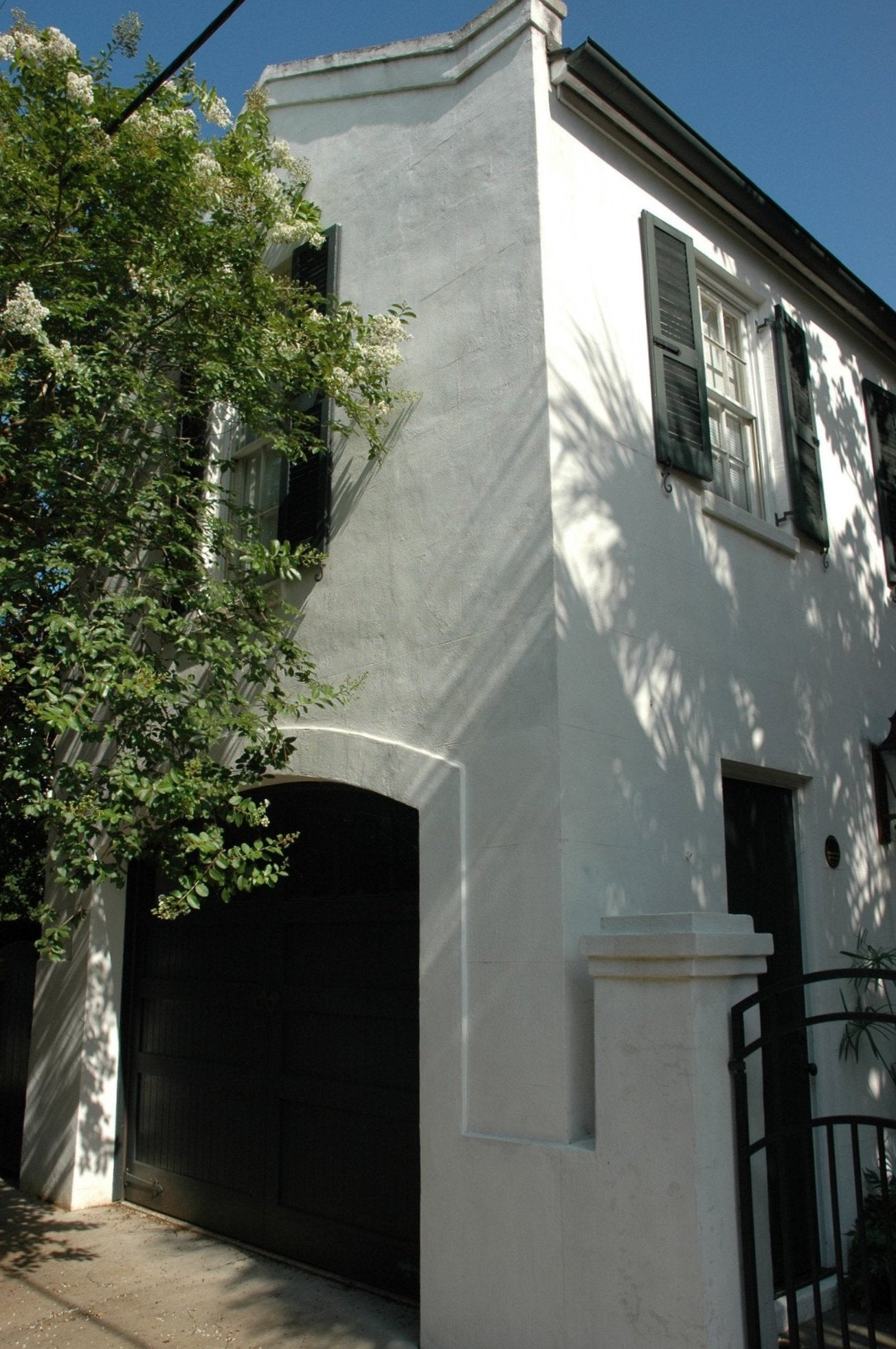 Limewash on stucco