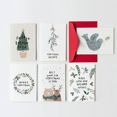 Bulk Christmas Card Value Set  - Pack of 10