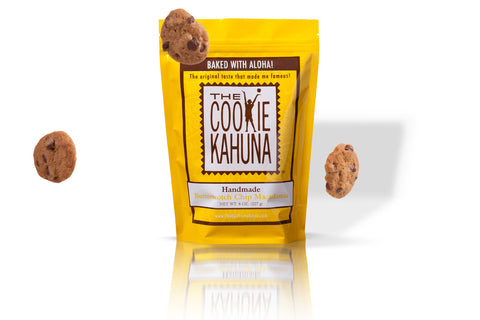Butterscotch Macadamia Cookies 6 oz bag