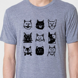 Rescue Cats Tee - Unisex Grey