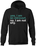 Yes I am an introvert