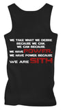 Sith Proverb