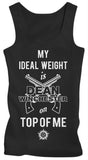 My Ideal Weight Is Dean Winchester On Me