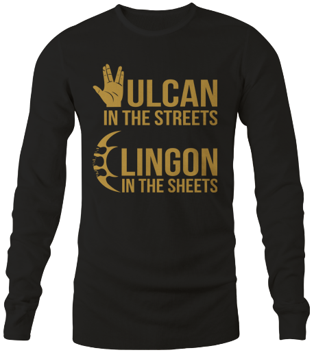 Vulcan In The Streets (Long Sleeve)