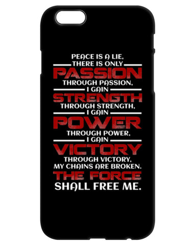 Sith Code - iPhone Case