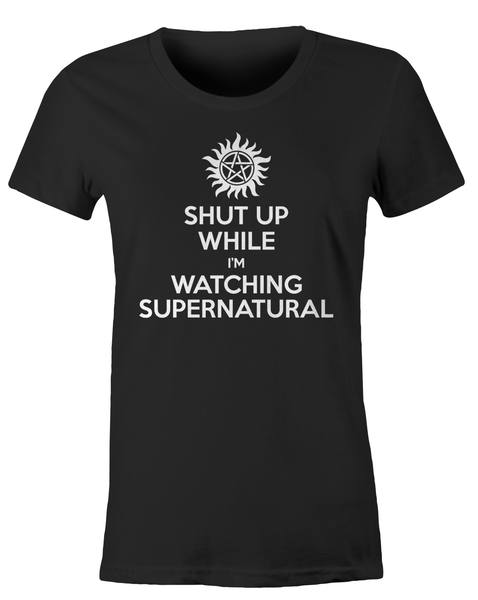 Shut Up While I'm Watching Supernatural