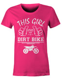 This Girl loves Her Dirt Bike