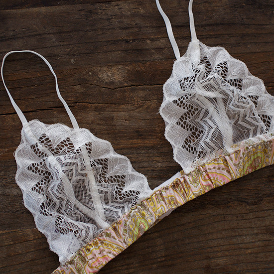 Lace Cup Bra