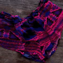 Tap Shorts in Vibrant Vortex