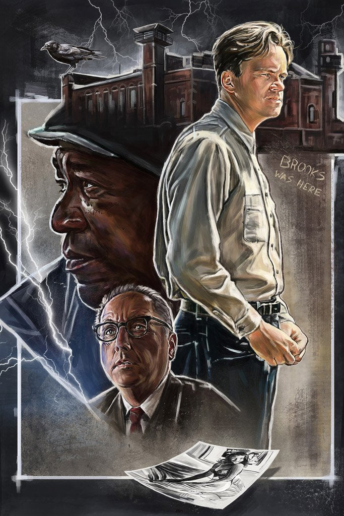 The Shawshank Redemption (1994) Movie Poster