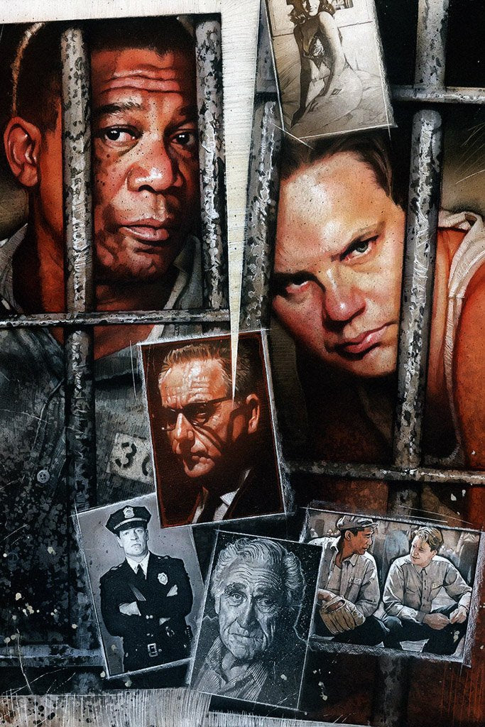 The Shawshank Redemption (1994) IMDB Top 250 Poster