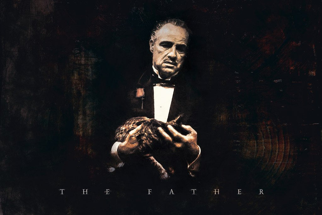 The Godfather (1972) IMDB Top 250 Poster