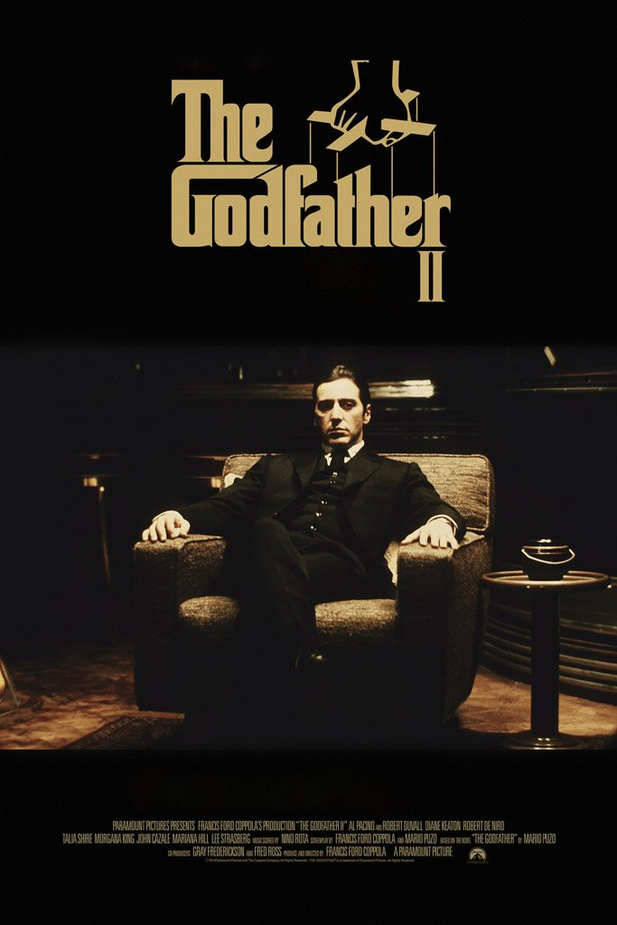 The Godfather Part II (1974) Poster