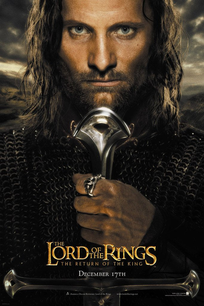 The Lord of the Rings The Return of the King (2003) Movie Poster