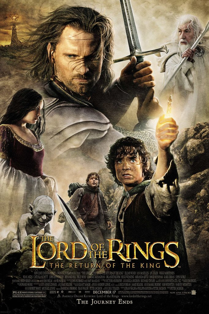 The Lord of the Rings The Return of the King (2003) IMDB Top 250 Poster